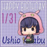 Happy Birthday Ushio Azabu Chibi
