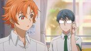 Satsuma introducing himself to Sosuke
