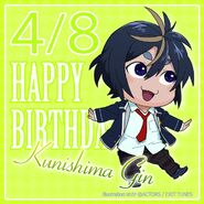 Happy Birthday Gin Kunishima Chibi