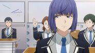 Ushio listening to a club president
