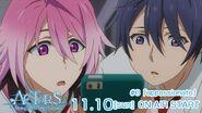 ACTORS -Songs Connection- Saku and Uta Episode 6 tweet on air November 10