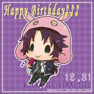 Happy Birthday Kakeru Iimori Chibi