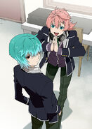 Koya pleading to Seijun