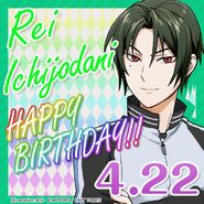 Rei Ichijodani Happy Birthday Card