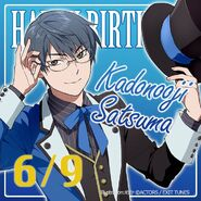 Happy Birthday Kadonooji Satsuma