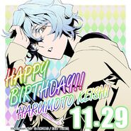 Happy Birthday Harumoto Keishi
