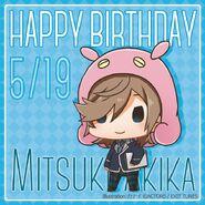 Happy Birthday Mitsuki Akika Chibi