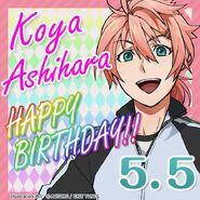 Koya Ashihara Happy Birthday Card