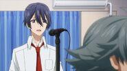 Saku asking Sosuke did I not sing it right