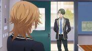 Chiguma telling Mitsuki I'll have our club think of something