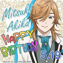 Mitsuki Akika Happy Birthday