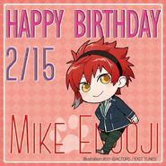 Happy Birthday Mike Enjoji Chibi