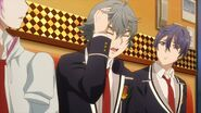 Sosuke telling Saku give me a break
