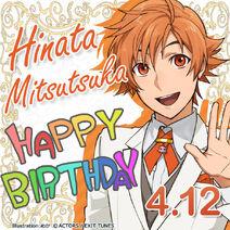 Hinata Mitsutsuka Happy Birthday