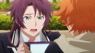 Kakeru asking Hinata how could she say something like that
