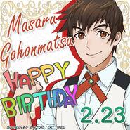 Masaru Gohonmatsu Happy Birthday