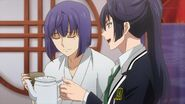 Kaoru telling Ushio that is indeed tea, but it's actually black tea