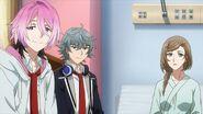 Nozomi telling Saku you can't stop smiling