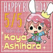 Happy Birthday Children's Day Koya Ashihara Chibi