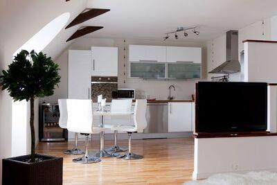 Modern Small Apartment Interior Design in Malmo, Sweden (2)
