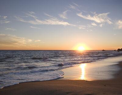 Malibu Sunset 1