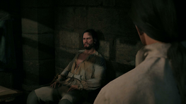 Matthew in prison