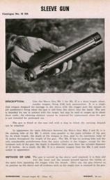 Sleeve gun Mk.2 catalogue page