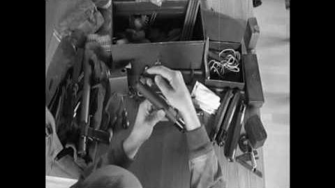 Sleeve gun Mk.2 preperation process