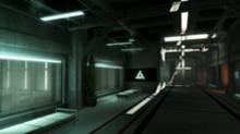 Abstergo Industries corridor