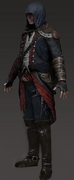 Achilles Kenway Character Model