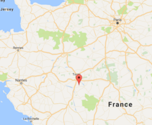 Location of Le Louroux
