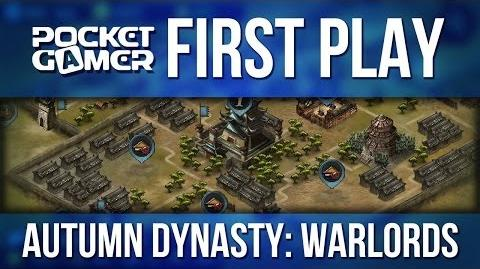 PG First Play - Autumn Dynasty Warlords iPhone iPad Gameplay-1