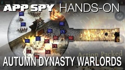 Autumn Dynasty Warlords iOS iPhone iPad Hands-On - AppSpy.com