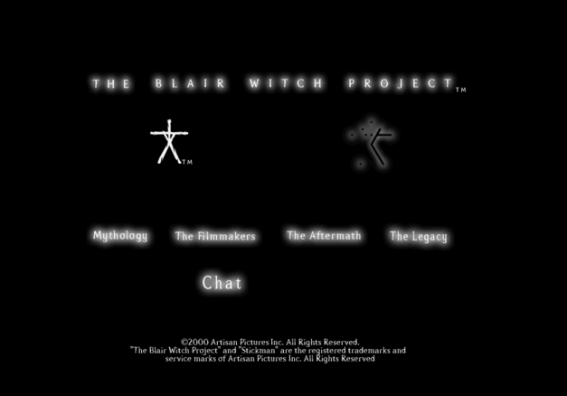 blair witch history website