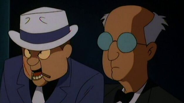 Batman the Animated Series Ventriloquist and Scarface (Gotham)