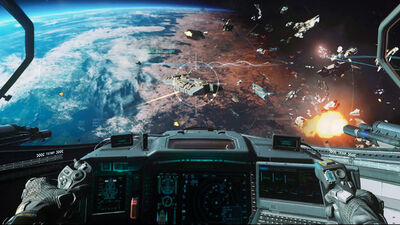 Inside the 'Call of Duty: Infinite Warfare' VR Experience