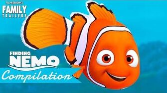 FINDING NEMO All the BEST MOMENTS Clips & Trailer compilation - Disney Pixar Movie