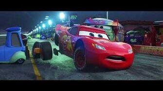 Cars 3 Crash Scene HD