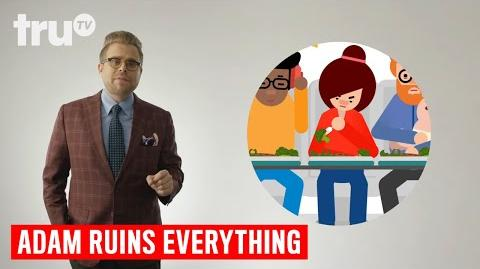 Adam Ruins Everything - What's the Deal with Airplane Food? (Everyday Ruins) truTV