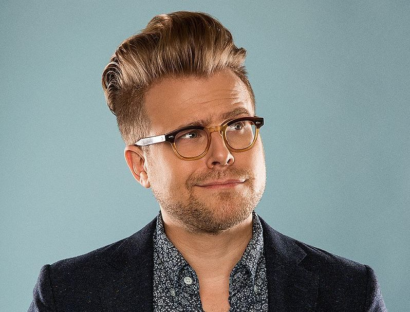 The 37-year old son of father (?) and mother(?) Adam Conover in 2021 photo. Adam Conover earned a  million dollar salary - leaving the net worth at  million in 2021
