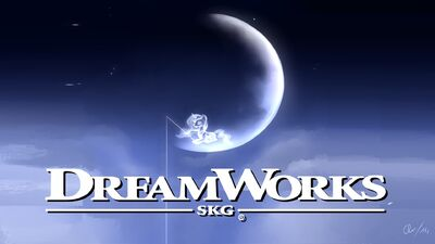 DreamWorks Pictures logo with Princes Luna