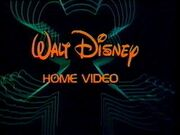 Walt Disney Home Video Neon Mickey