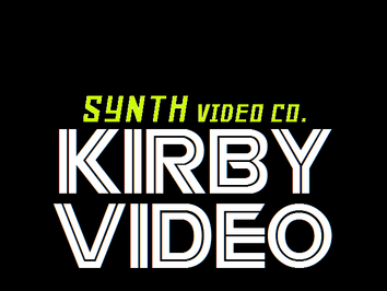 1992 Kirby Video Logo Take 3