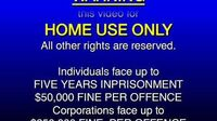 El TV Kadsre Home Video Warning Screen (International, 1985-1989)