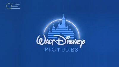 Walt Disney Pictures logo Zoomed out