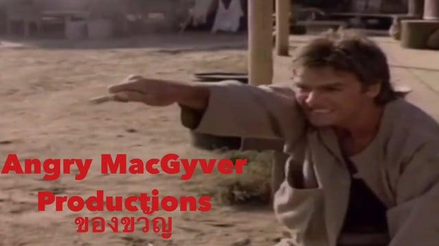 (FAKE) Angry MacGyver Productions Logo (August 1986-)