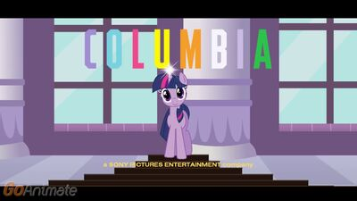 Columbia Pictures logo (MLP- The Friendship Quest Variant)