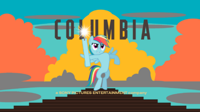 Columbia Pictures (My Little Pony Fighting is Magic Variant)