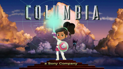 Columbia Pictures logo (Nella the Princess Knight The Movie (2018) Variant)