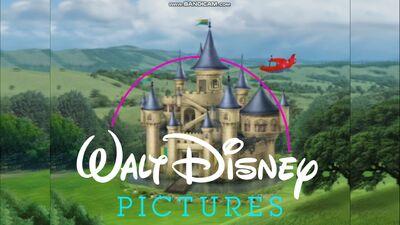 Walt Disney Pictures logo (1990-2006) (The Little Einsteins Movie trailer variant)